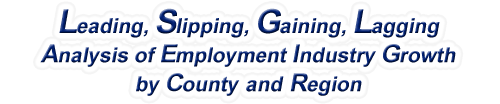 New Mexico - LSGL Analysis of Employment Industry Growth by Selected Region, 1969-2015
