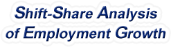 Shift-Share Analysis of New Mexico Employment Growth and Shift Share Analysis Tools for New Mexico